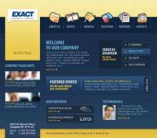 网页模板 公司类模板图片