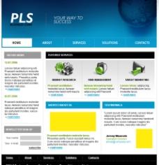 国外企业站 web界面设计图片