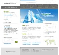 国外网站网页模板图片