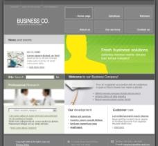 商务企业类型网站图片