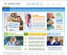 国外休闲类型网页设计图片