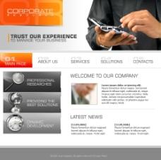 网页模板国外网站图片