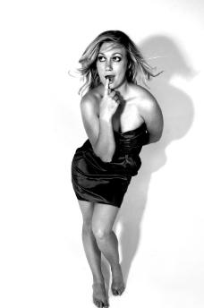 黑白美女诱惑图片