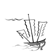 一帆风顺字体设计图片