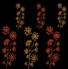 花纹背景 花朵图片