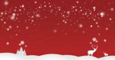 圣诞淘宝店铺背景图片