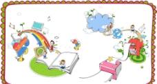 矢量儿童插画素材