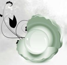 玉瓷无框画图片