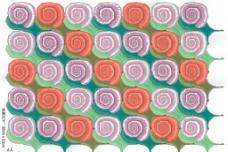 密铺图案    蜗牛图片