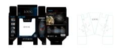 耳机彩盒包装包装图片