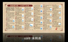 中医养生二十四节气坐功图图片