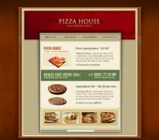 饮食餐饮站 英文模板图片