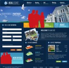 房地产建筑类 国外企业站图片