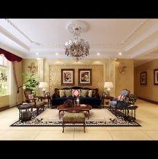 简欧式客厅