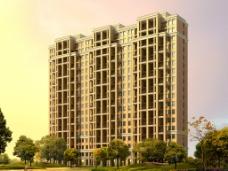 建筑效果图 公寓图片