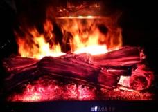 壁炉欧壁火篝火图片