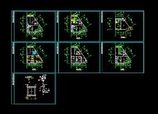 某五星级酒店设计CAD方案图