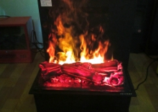 壁炉火焰图片