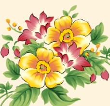 花朵PSD图片