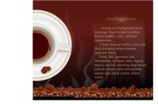 咖啡主题海报
