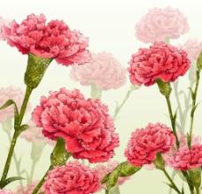花朵无框画图片