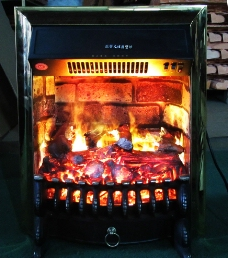 3D采暖壁炉图片