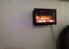 浴室电壁炉采暖图片