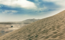 西藏沙漠图片
