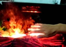 伏羲电壁炉3D仿真火焰图片