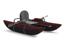 橡皮艇3d模型