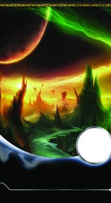 魔幻背景图片