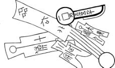 古代器具 古代物品 线图片