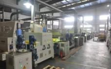 地板生产线 生产线 地板车间图片