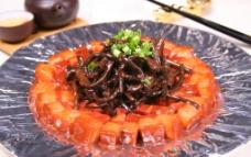 茶树菇烧肉图片