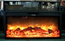 麻省理功烤鱼壁炉图片