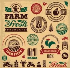 田园农场主题标签图片