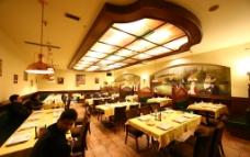 欧式自助餐厅图片