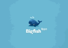 鯨魚logo圖片