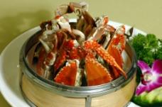 粤菜海鲜螃蟹图片