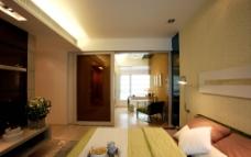 广州金海湾 样板房 卧室图片