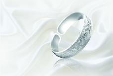 银器 银镯子图片