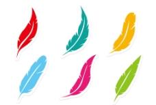 孔雀羽毛图片