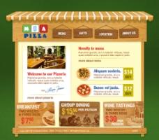 饮食餐饮站 英文国外企业图片